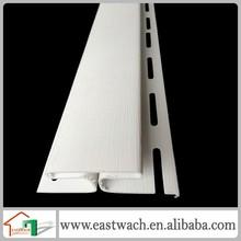 clapboard PVC vinyl siding profile pvc wall panel exterior channel accessory
