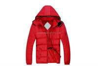 Mens hooded quilted outdoor jacket