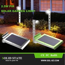 2015 Cheap Solar Panel Price for Solar Powered Motion Sense Garden Lights