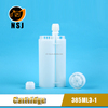 385ml 3:1Disposable Empty Silicon Cartridge in Industry