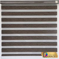 Wholesale Pleated Zebra Blinds Fabric/Quality Blinds and Shutters