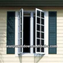 PVC casement windows grills design picture