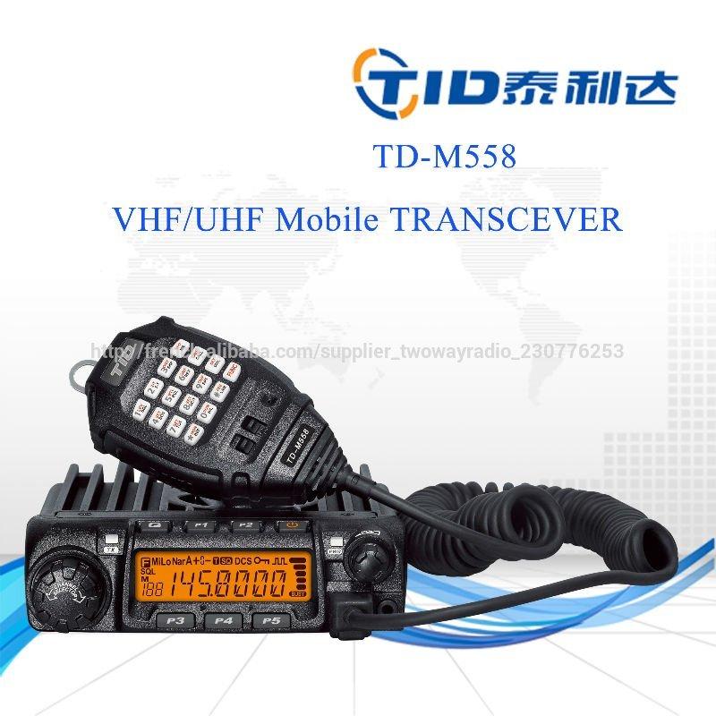 Taxi poche. td-m558 récepteur dans transceiver