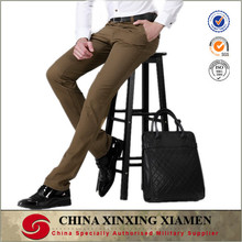 wholesale high quality khaki color mens formal pants for business