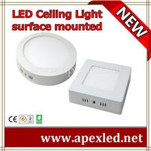 die casting aluminum surface mounted led flat panel lighting 220v