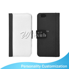 Blank Sublimation Printing Wallet Case for iPhone 6 Mobile