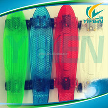 Plastic ABS transparent penny skateboard