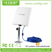 150Mbps Long Distance USB Powered USB WiFi Antenna, Wifi Card with 20dBi Panel Antenna