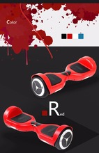 2015 most popular Electric 2 Wheels Drifting Skateboard Smart Scooter Self Balance Scooter