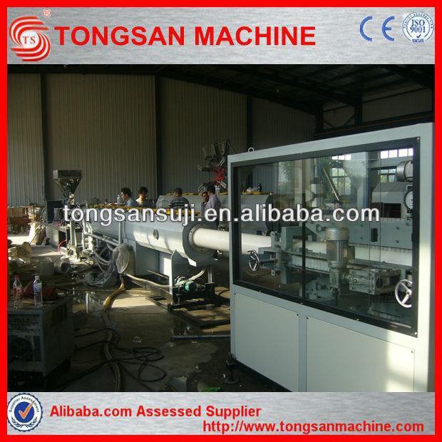 La máquina extrusora para la fabricación de tubos de pvc tubería de pvc de maquinaria de fabricación