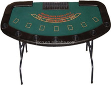 multy poker game used/Poker table with iron leg
