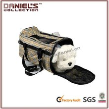 2012 newest cheap plaid travel pet carrier bag dog products