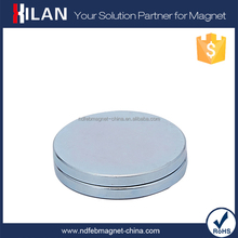 High Quality Cheap Permanent Rare Earth Neodymium Disc Monopole Magnet in China Alibaba