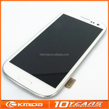 Mobile Phone parts for Samsung Galaxy S3 LCD Digitizer with touch screen