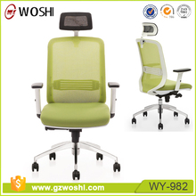 Office or Home Durable Green Mesh with Mobile Wheels Computer Chair, Office chairs wholesale