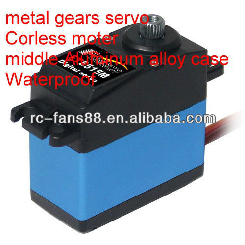 Haute qualité rc servo 5v standard avec metal gear pour futaba/hitec/jr/<span class=keywords><strong>towerpro</strong></span>/savox
