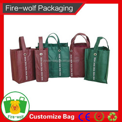 Most Popular 2015 New Products 6 Bottle Tote Wine Bag supplier