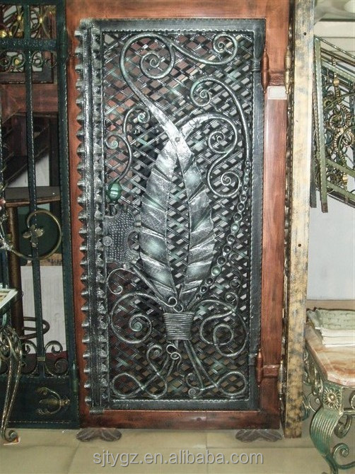 Affordable Fashion And Security Iron Main Entrance Doors