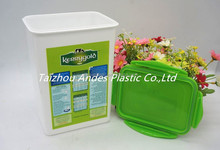 Reusable 2.5L Plasticr airtight food container with lid