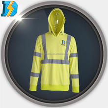 pvc waterproof fabric chemical resistant with reflective tapes is added ,Hood