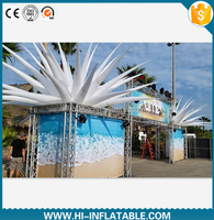 popular wedding event supplies inflatable star for stage decoration