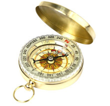 Portable Outdoor Camping Hiking Pocket Compass Outdoor Navigation Tools Classic Brass Pocket & Gift Outdoor Camping Compass