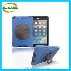 360 Degree Rotating Kickstand Combo Case for iPad Mini