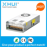 Factory price! swithcing power supply S-350 12V 30A for led strips