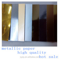 color and fancy silver red glod christmas metallic paper for gift wrapping