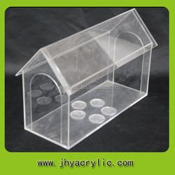 Cheap top sell acrylic bird cage/acrylic wholesale bird cage for sale
