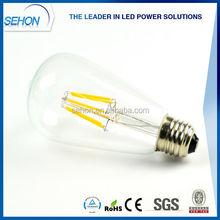 China Supplier ST64 B22 Led Filament Bulbs, Led Filament Bulb E14/E27, 12V Led Bulb E27