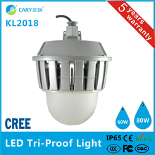 Professional 80W ip65 led tri-proof lighting