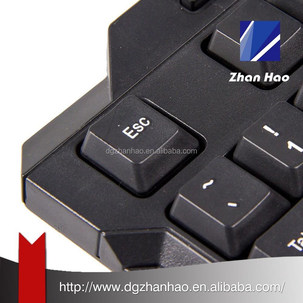 Multiple Language Waterproof multimedia Game keyboard