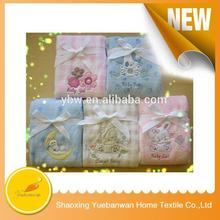 2015 Top quality Wholesale Soft Feel Warm waffle blanket with satin trim