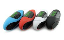 2015 New Product Alarm Clock FM Radio Bluetooth Speaker