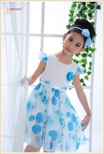 Promotional cheap beautiful child dress for 2 3 4 5 6 7 young girls