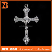Antique Silver Religious Cross Charms Wholesale Western Cross Jewellery