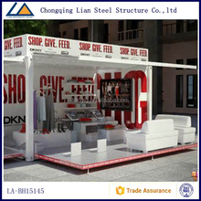 China Supplier Container House Store With Interior Decoration