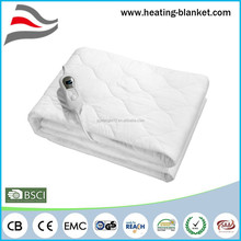 Overheating Protection Auto-off 220V Heating Washble Cotton Electrical Blanket King