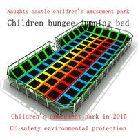 Popular Large Kids Indoor Trampoline Bed For Sale