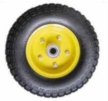 Wheel Barrow Spare Parts Rubber Wheel 4.00-6