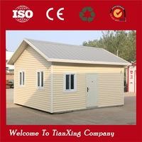 Standard living prefab house office caravan