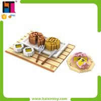 1380 PCS Mooncake Shape Plastic Mini Enlighten Building Blocks