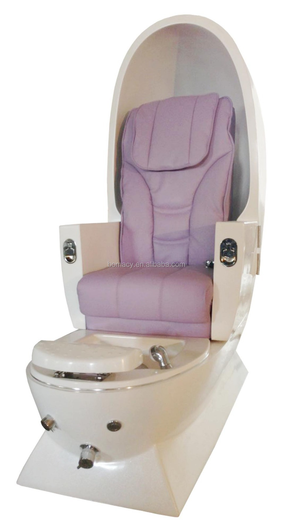 Egg Shaped Pipeless Comfortable Pedicure Massage Chair For Wholesale Buy Pe