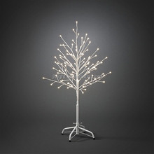 1.5m White Outdoor LED Christmas Twig Tree, led tree uplighting, led outdoor light tree