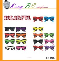 Colorful sun glasses fashion styles with CE and FAD