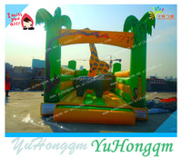 china top quality indoor outdoor cheap jungle themed inflatable giraffe air bouncer for sale