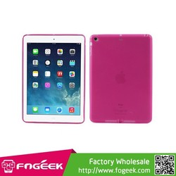Brand New Matte TPU Gel Cover w/ Anti-dust Plug for iPad Air