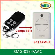 Smg-015-faac FAAC 433 mhz rolling code FAAC RC control remoto