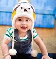 handmade crochet cartoon hat kids wool hats crochet knitted hats animal latest design outdoor funny knit winter hats